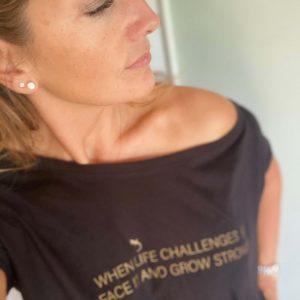 Cecilie T-shirt set forfra