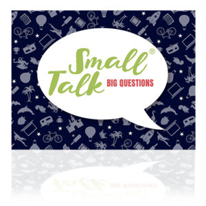 Small Talk Big Questions blå