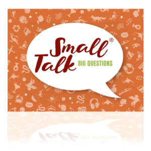 Small Talk Big Questions orange